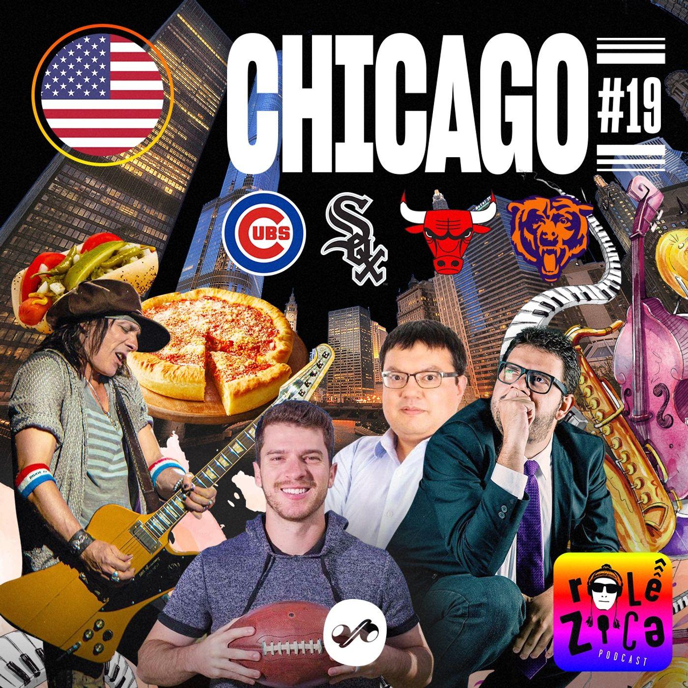 Chicago: Blues e Bulls, inverno congelante e cachorro quente picante