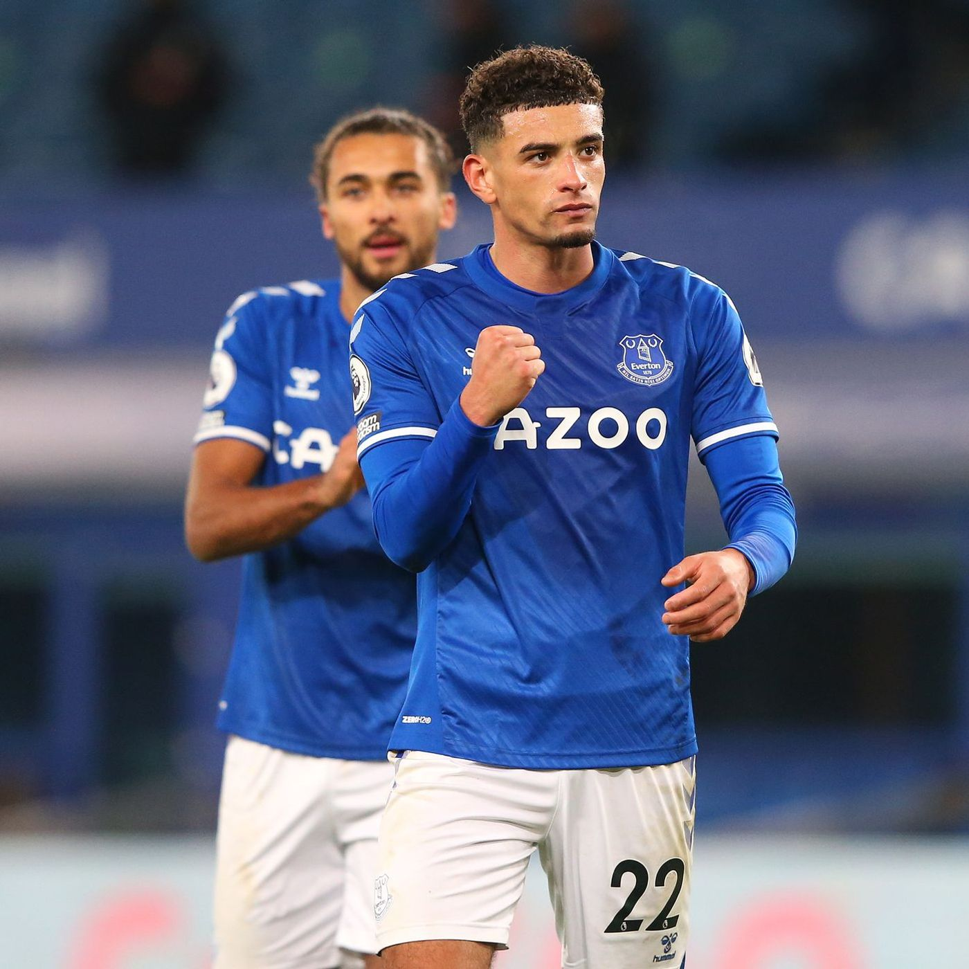 Royal Blue: Blues back to winning ways as Ben Godfrey and Co see off Chelsea in front of 2,000 returning fans at Goodison