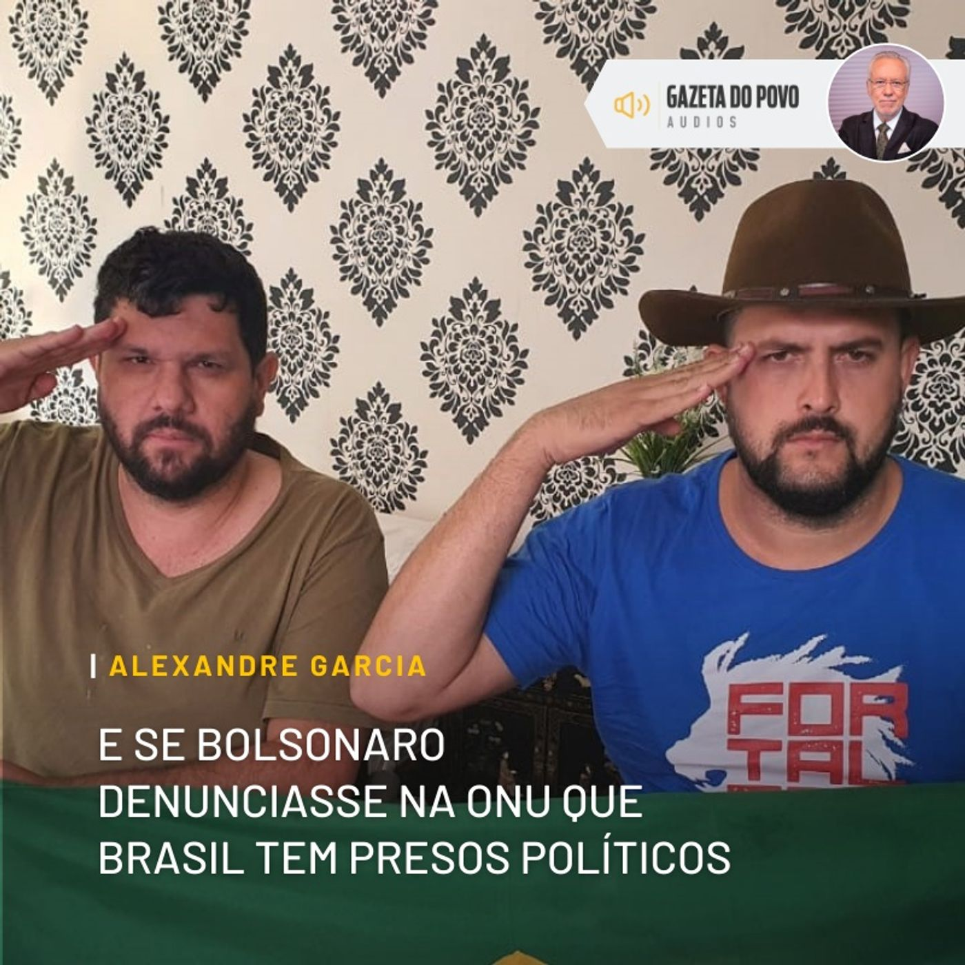 E se Bolsonaro denunciasse na ONU que Brasil tem presos políticos