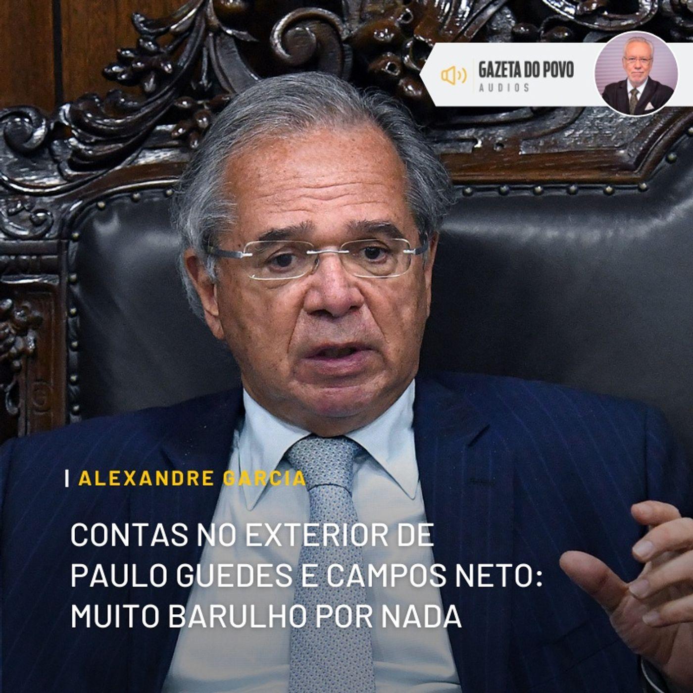 Contas no exterior de Guedes e Campos Neto: muito barulho por nada
