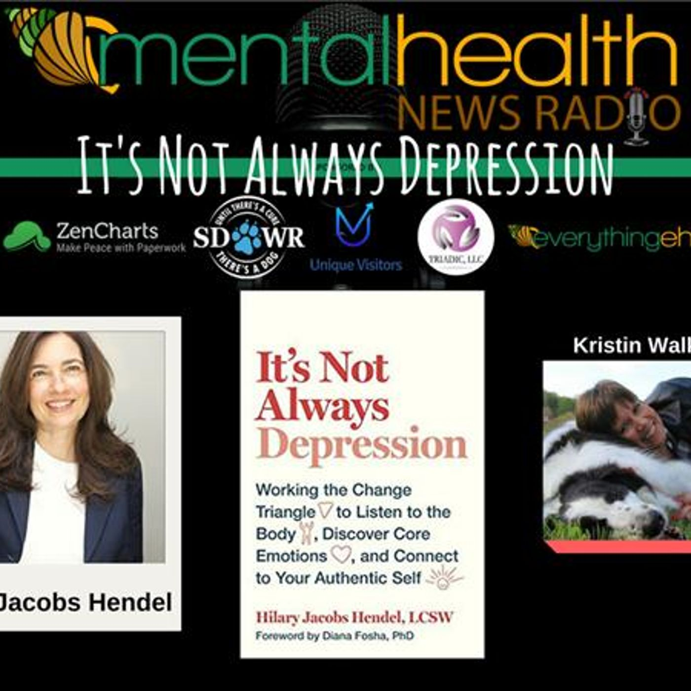 Mental Health News Radio - It's Not Always Depression with Hilary Jacobs Hendel, LCSW