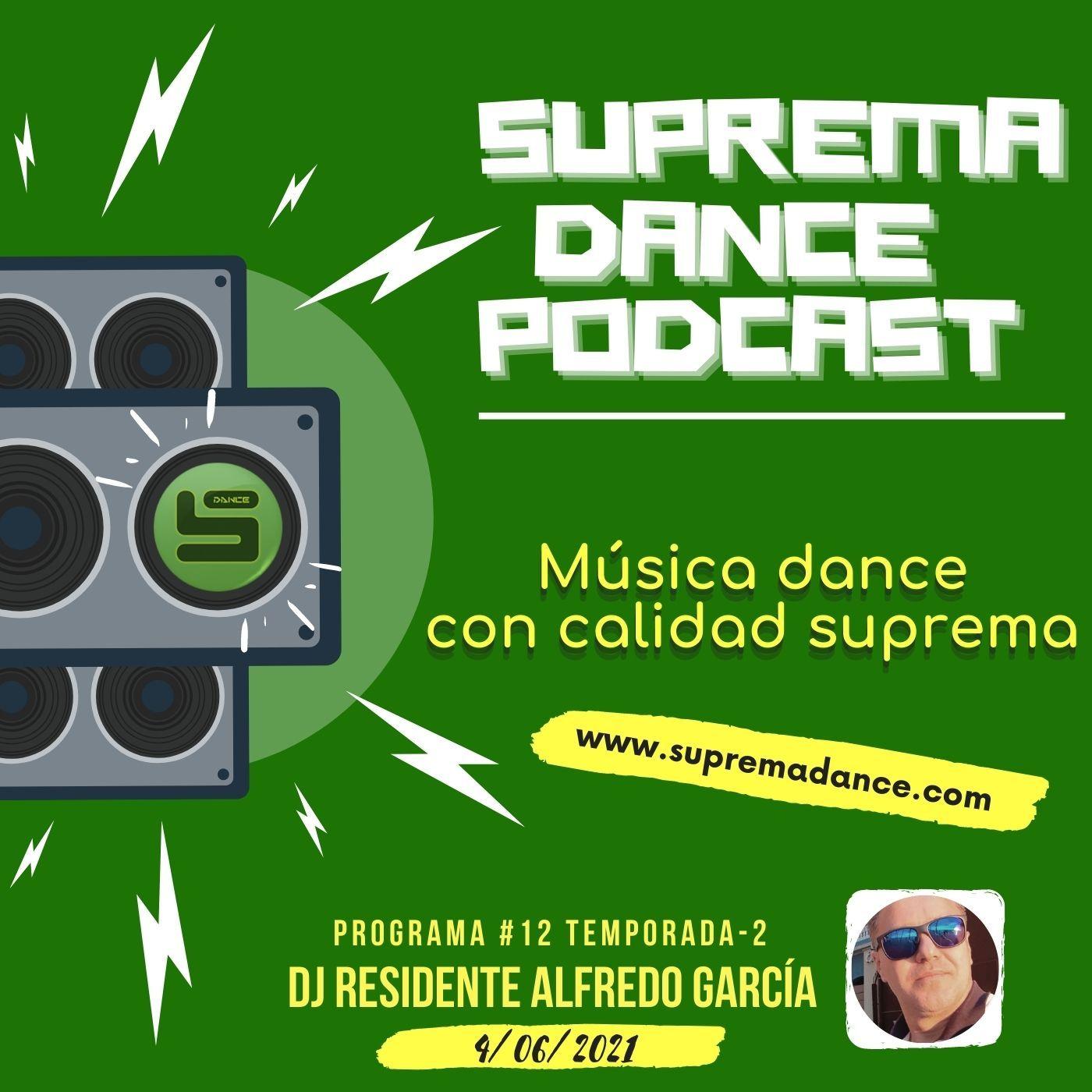 DJ Residente Alfredo García | Programa-12 | T.2 | SDP