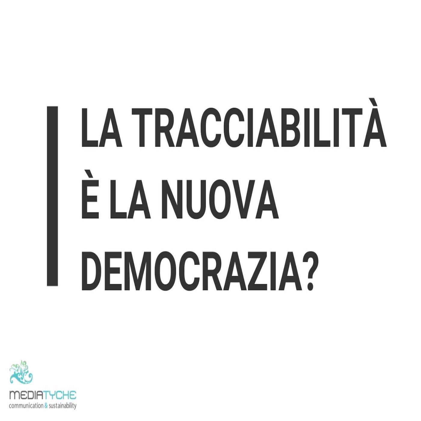 7- La tracciabilità è la nuova democrazia?