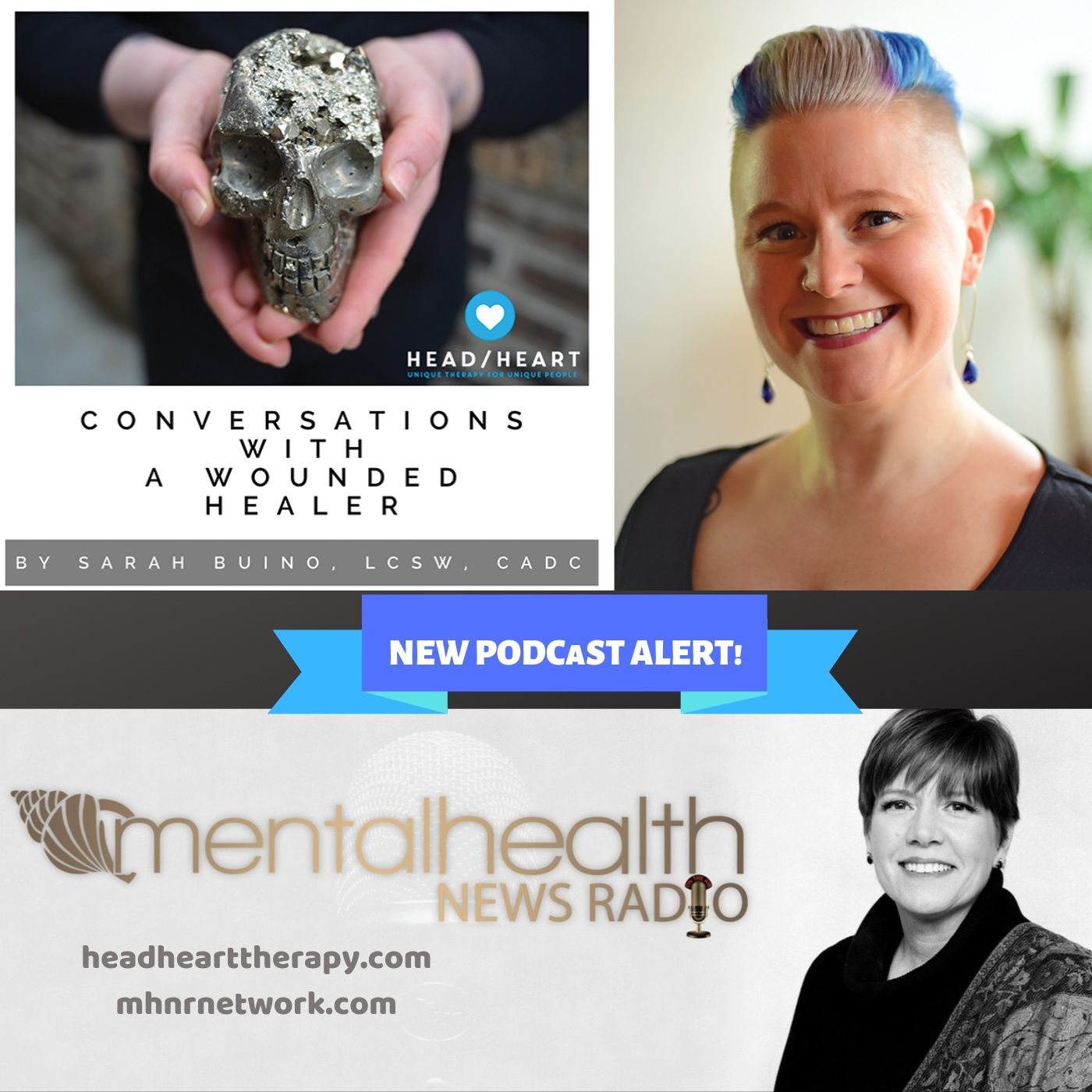 Mental Health News Radio - Conversations with a Wounded Healer