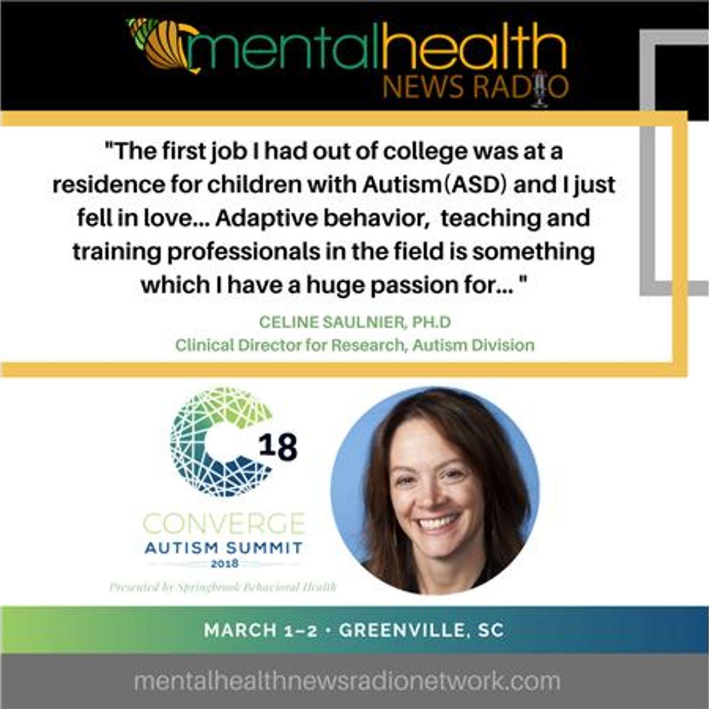 Mental Health News Radio - Autism: Applying Adaptive Skills for Real Life with Celine Saulnier, PhD
