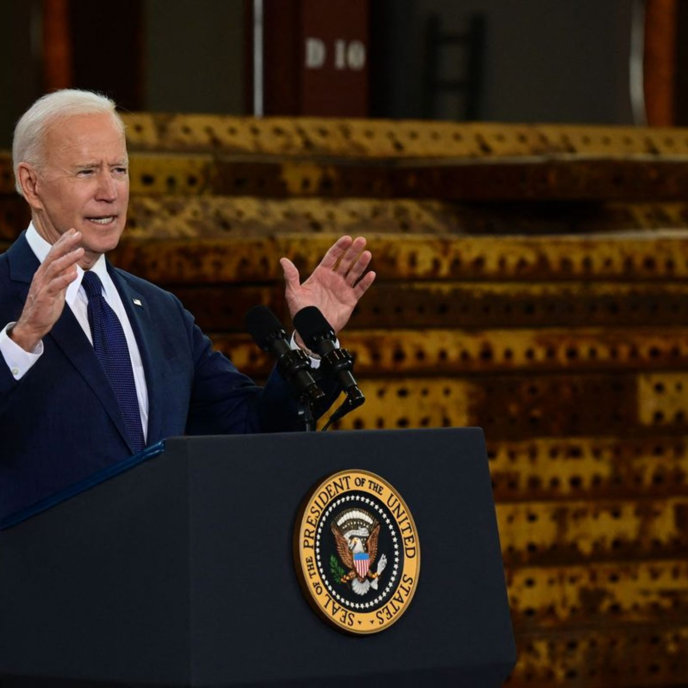 Why Biden's signature bill has stalled