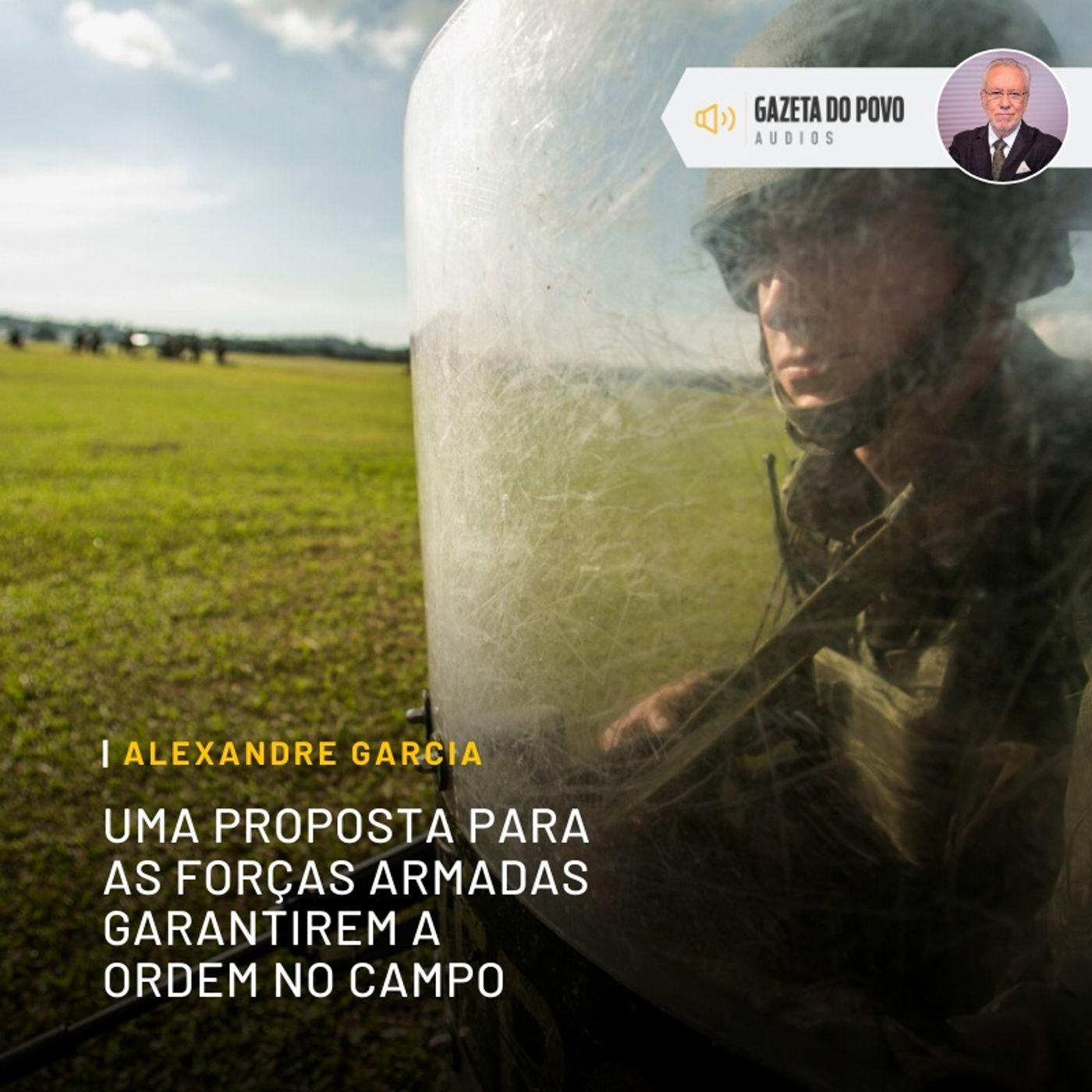 Uma proposta para as Forças Armadas garantirem a ordem no campo