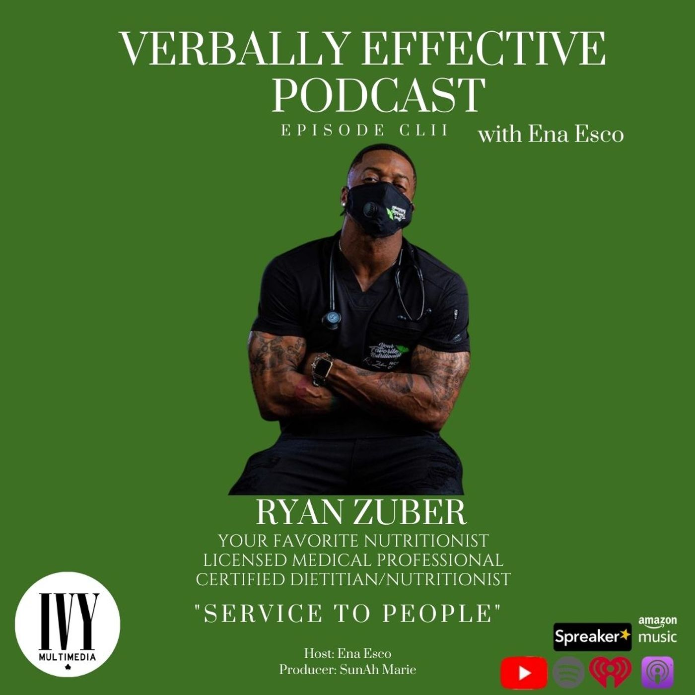 """EPISODE CLII   """"SERVICE TO PEOPLE"""" w/ RYAN ZUBER"""