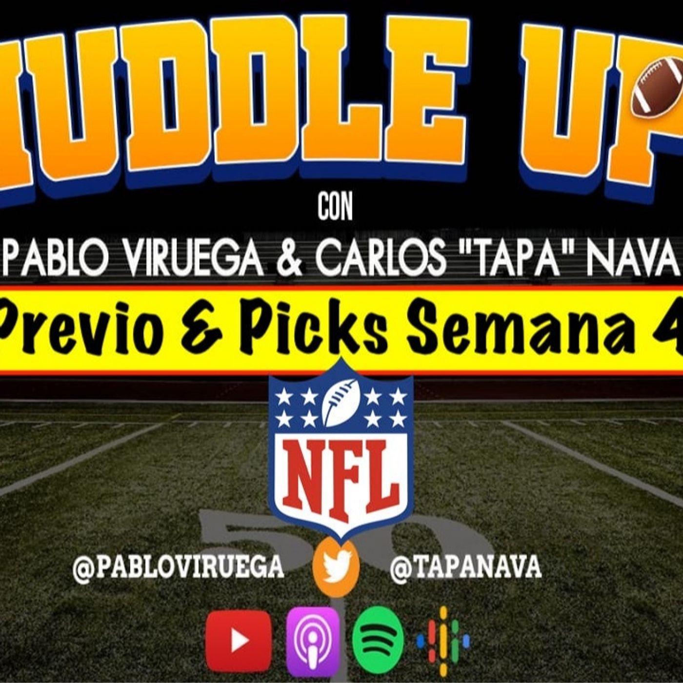 #HuddleUP Previo & Picks Semana 4 #NFL @TapaNava y @PabloViruega