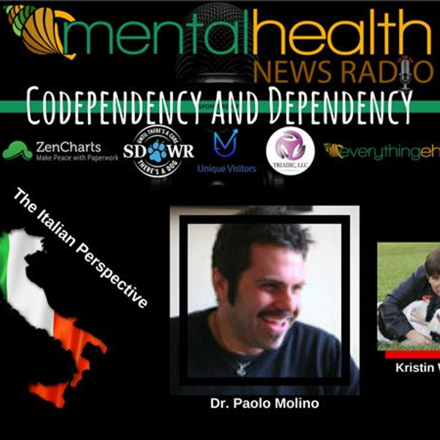 Mental Health News Radio - The Italian Perspective: Codependency and Dependency with Dr. Paolo Molino