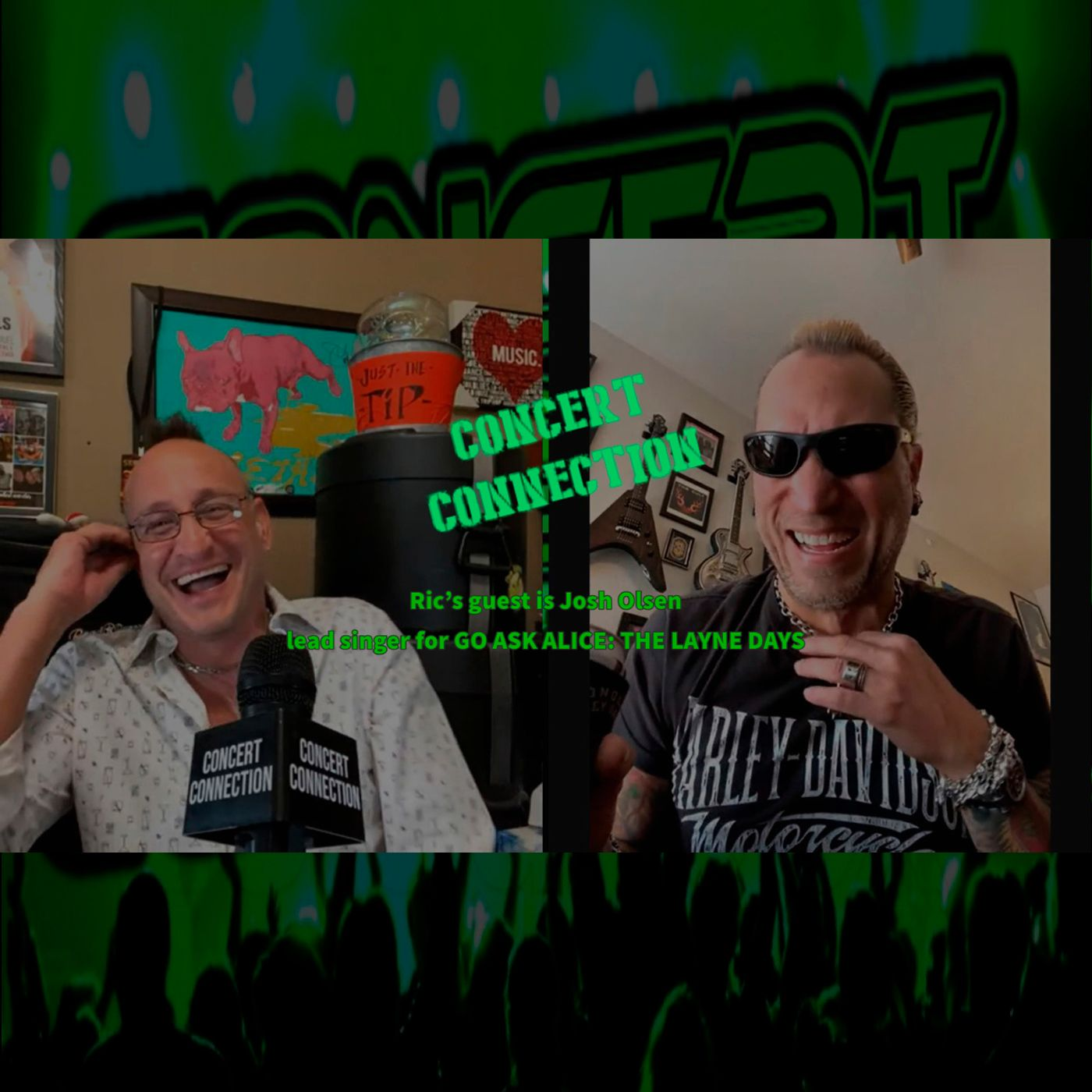 TCC Jan 6 2021 Ric's guest is Josh Olsen from Go Ask Alice