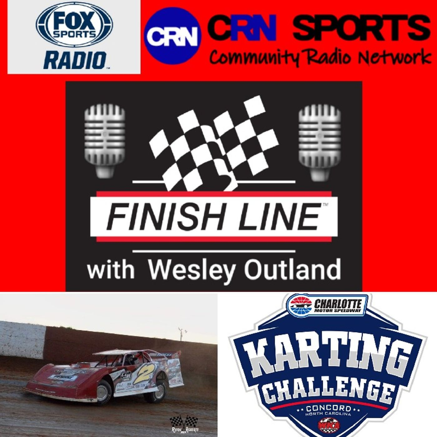 June 19th #FinishLine w/ Brandon Overton #USA100, #CMSKartingChallenge Preview w/ Mackie Flood, Austin Yarbrough, Phil Combs & Paul Szmal!