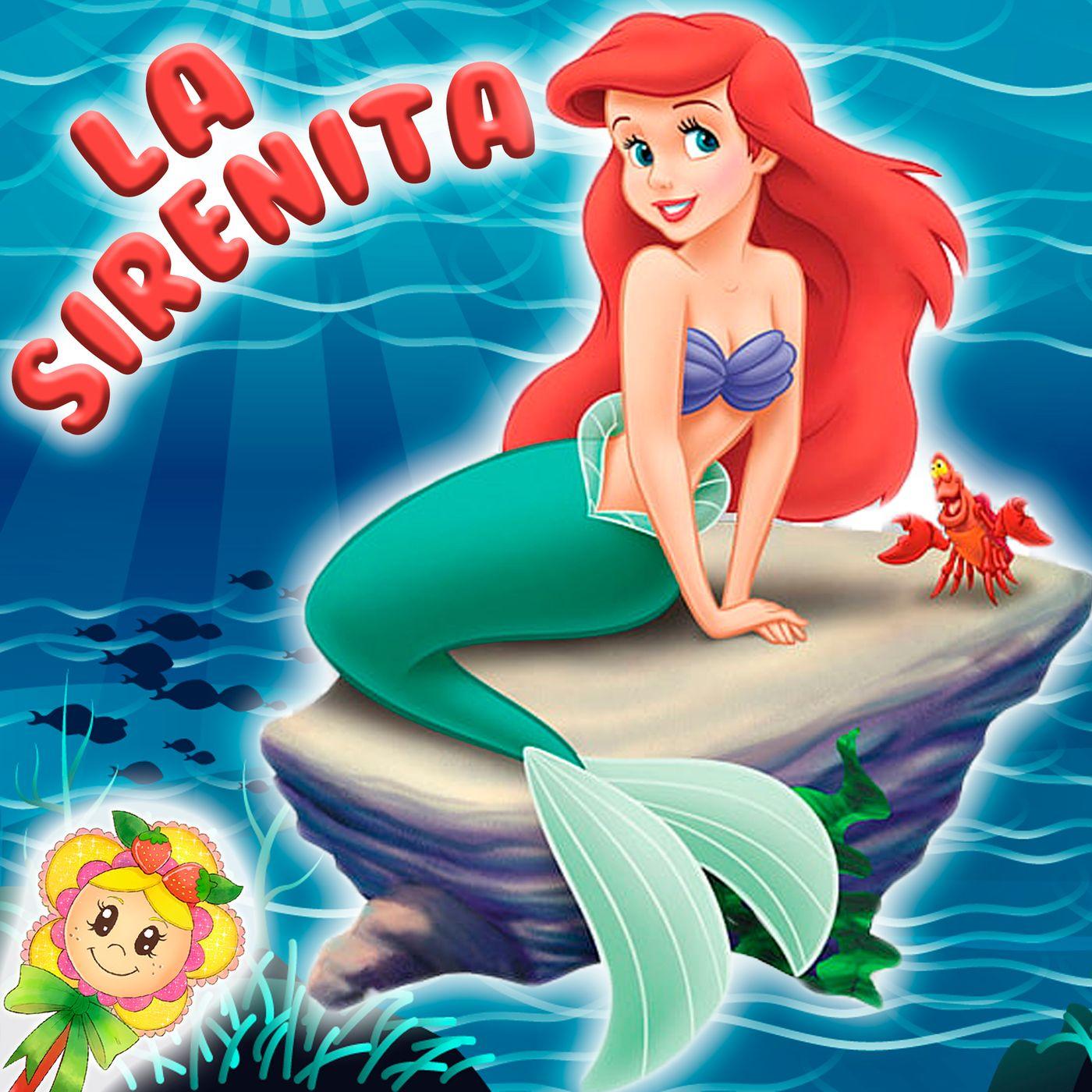 48. La Sirenita en inglés y en español. Cuento clásico para niños en versión de Hada de Fresa, para aprender inglés.