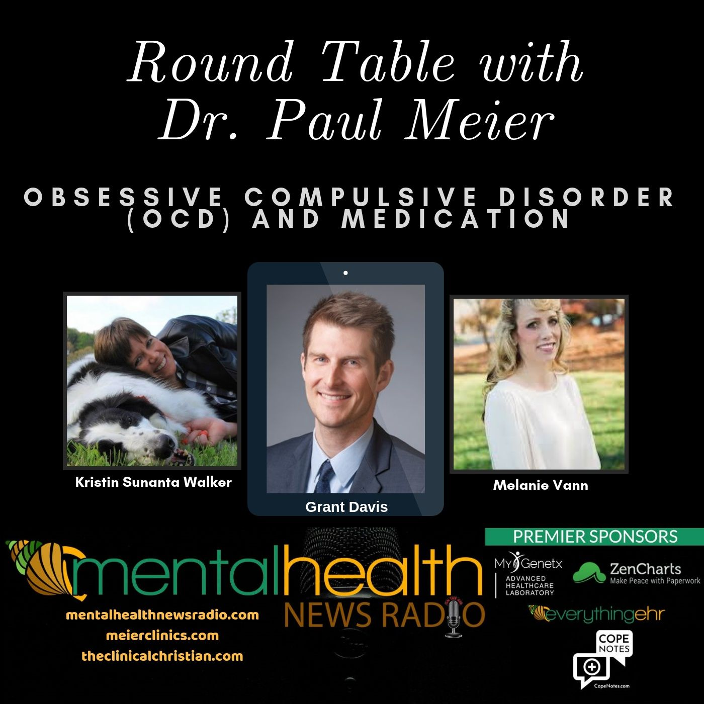 Mental Health News Radio - Round Table with Dr. Paul Meier: OCD Medication