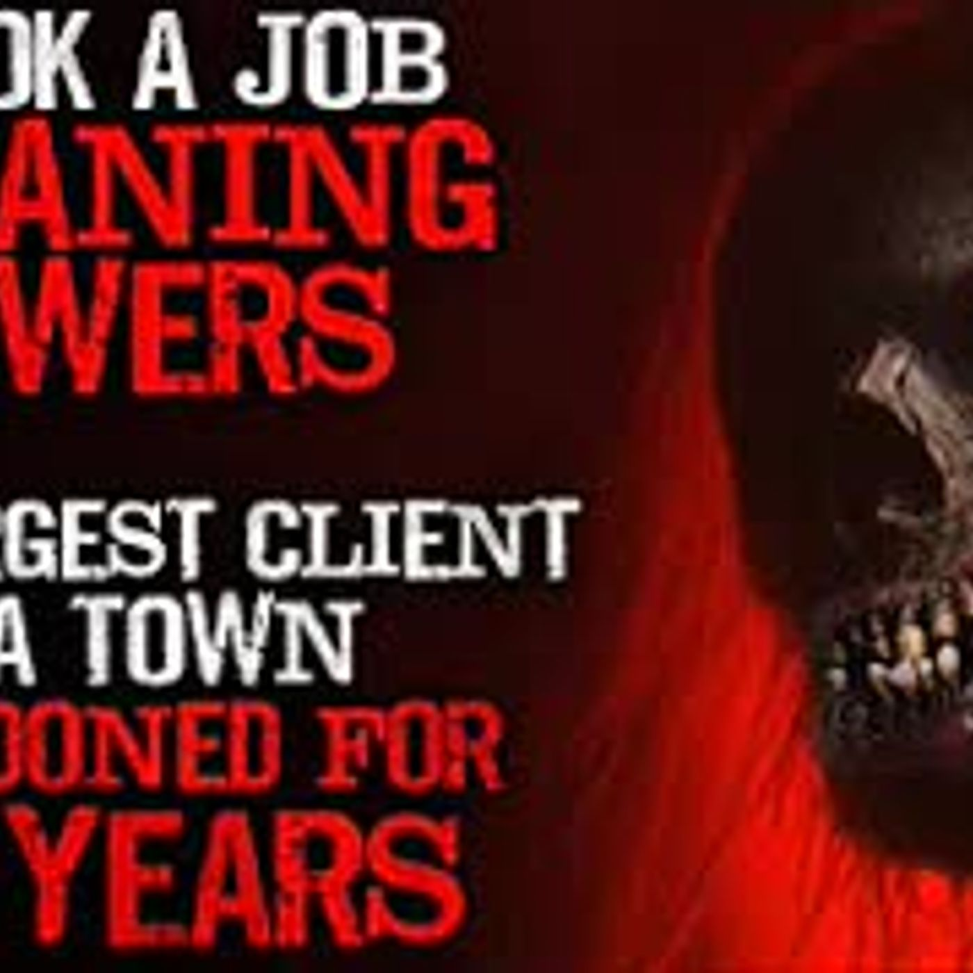 """I took a job cleaning sewers for a private contractor"" Creepypasta"