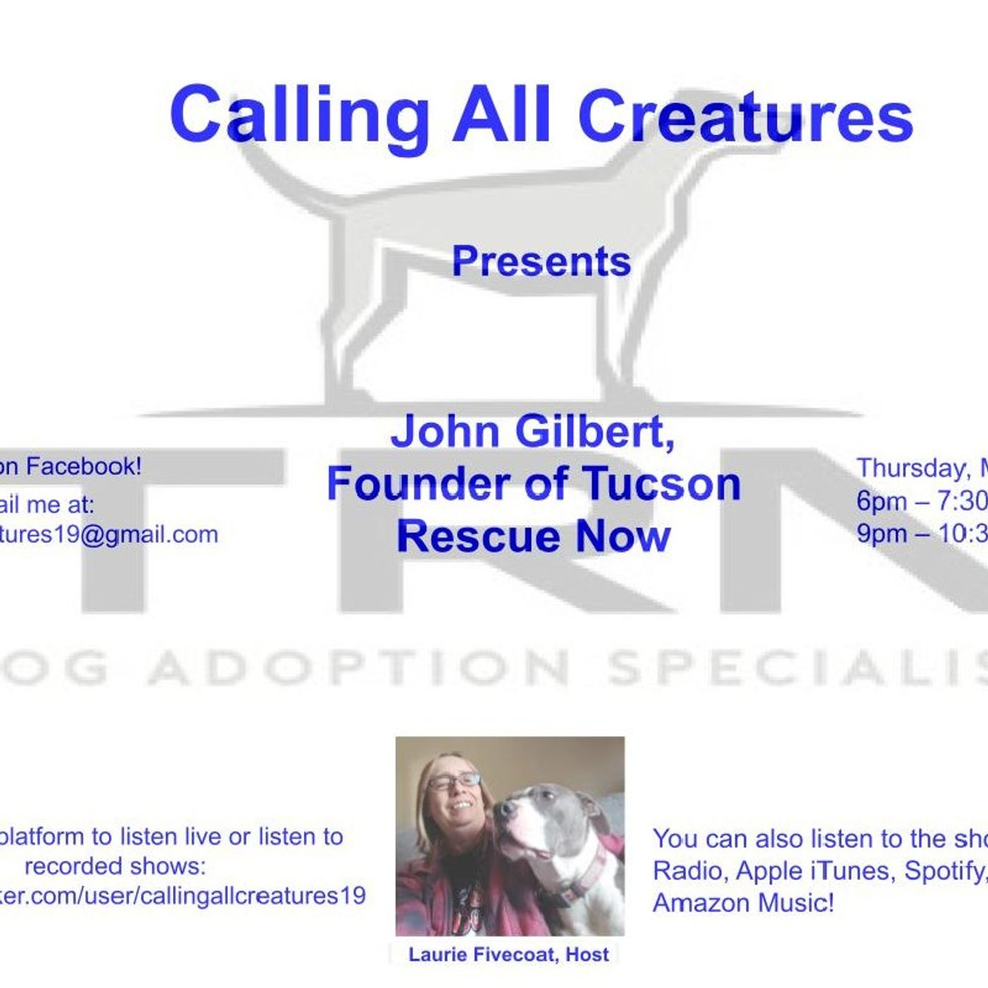 Calling All Creatures Presents Tucson Rescue Now Update