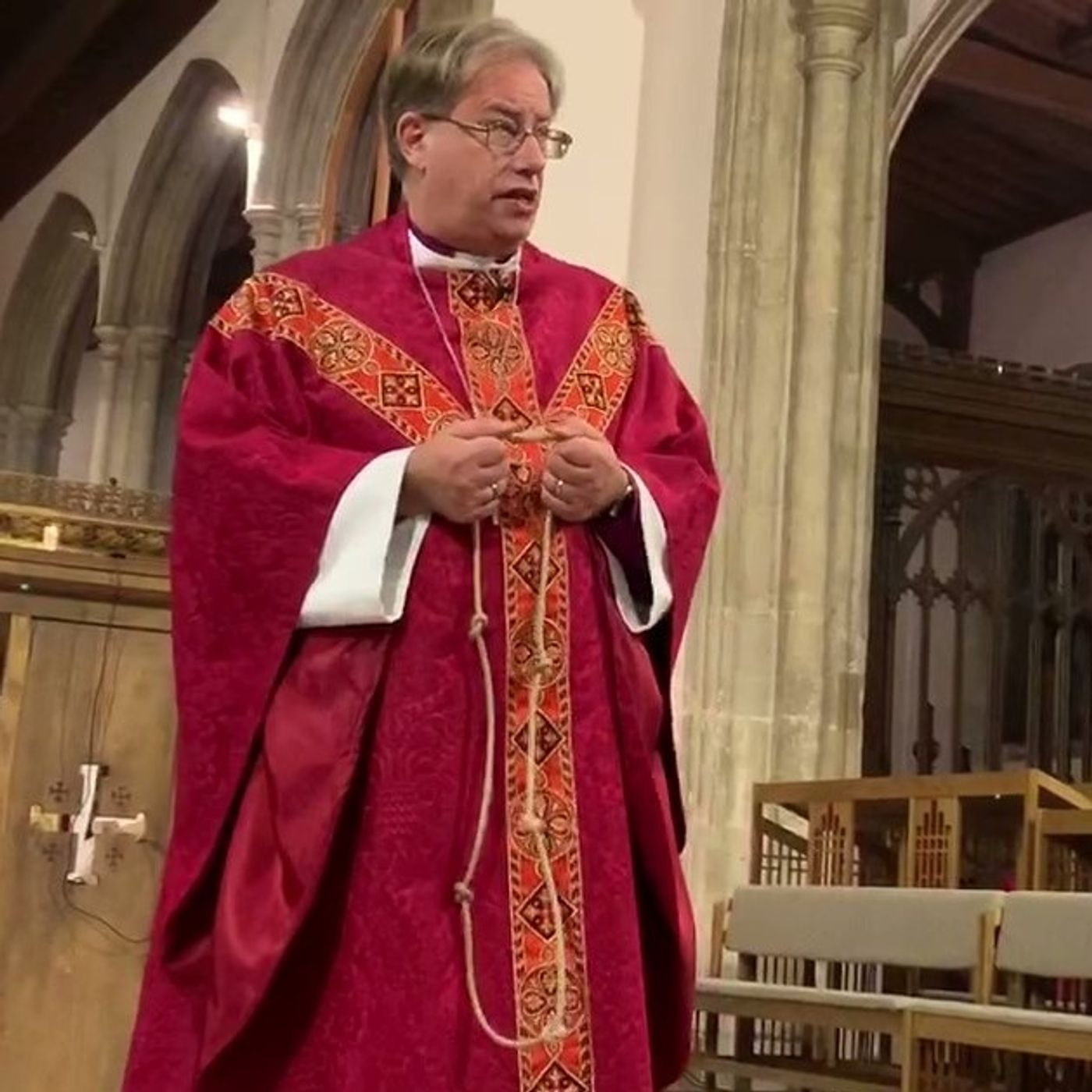 Sermon for 2 before Advent - Led by the Spirit Eucharist - Bishop Steven Croft