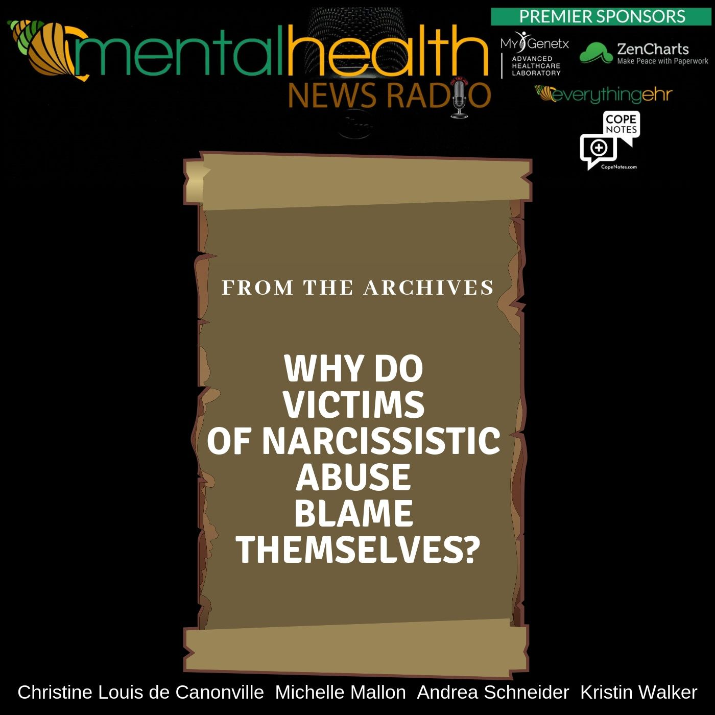 Mental Health News Radio - From the Archives: Why Do Victims of Narcissistic Abuse Blame Themselves?