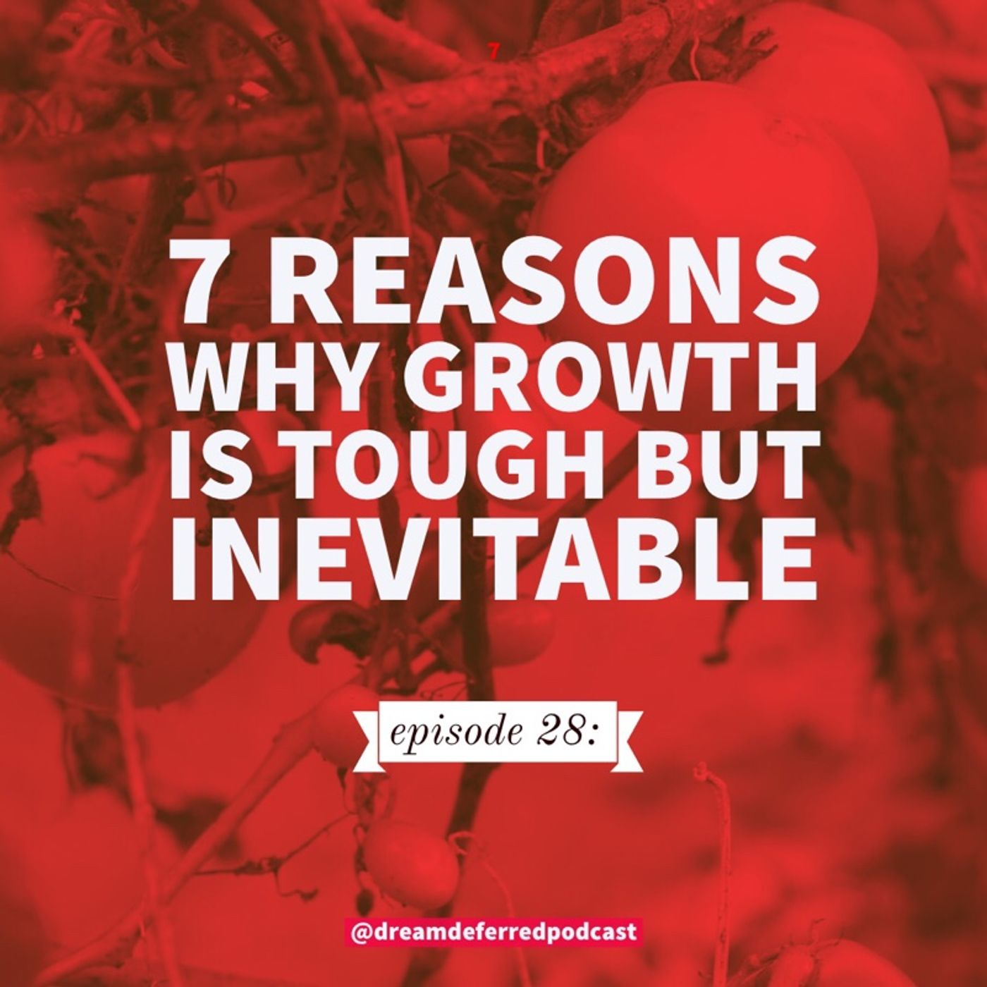 episode 28: 7 reasons why growth is tough but inevitable