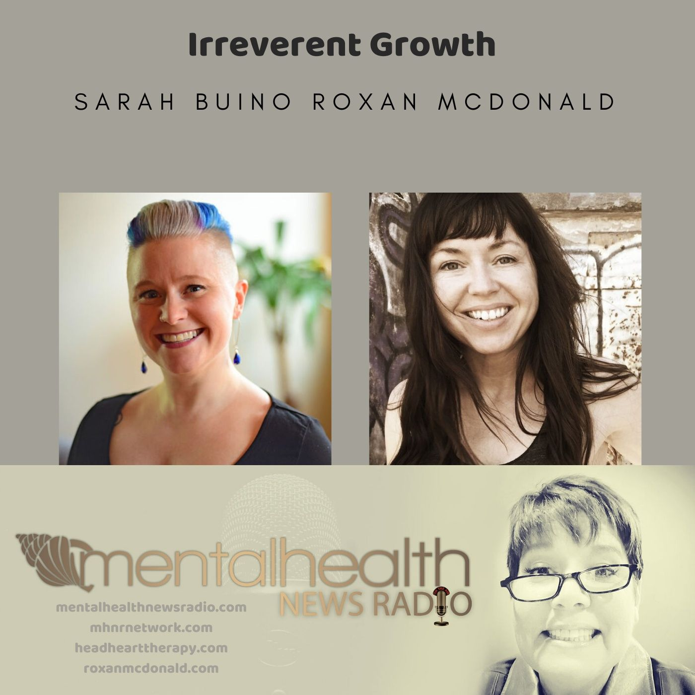 Mental Health News Radio - Irreverent Growth