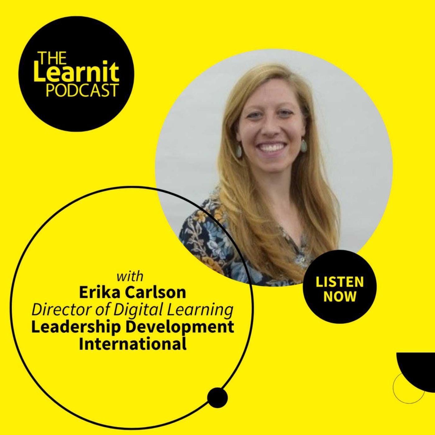 #35, Erika Carlson, Director of Digital Learning, Leadership Development International: Building an Online School in China
