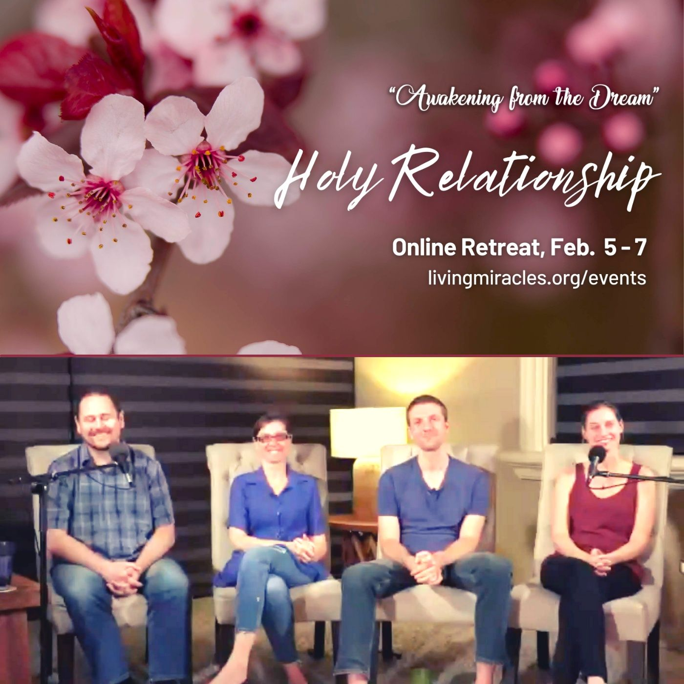 Holy Relationship Panel - Erik Archbold, Susan Huculak, Peter Kirk, Linda van der Velden - Awakening from the Dream Online Weekend Retreat