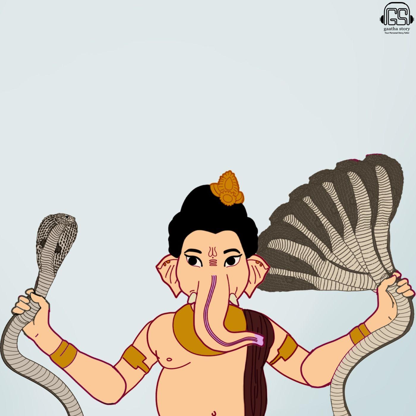 4: Lord Ganesh and Shesh Nag