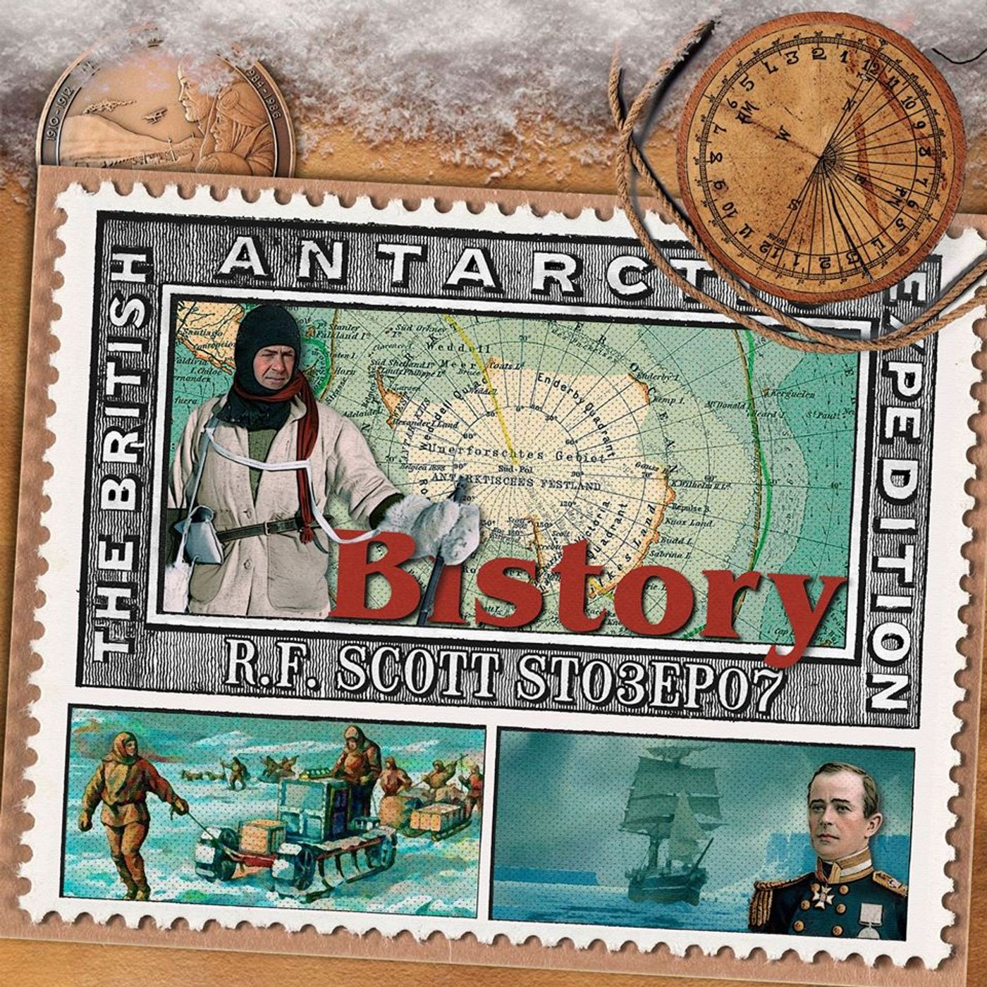Bistory S03E07 Robert Falcon Scott