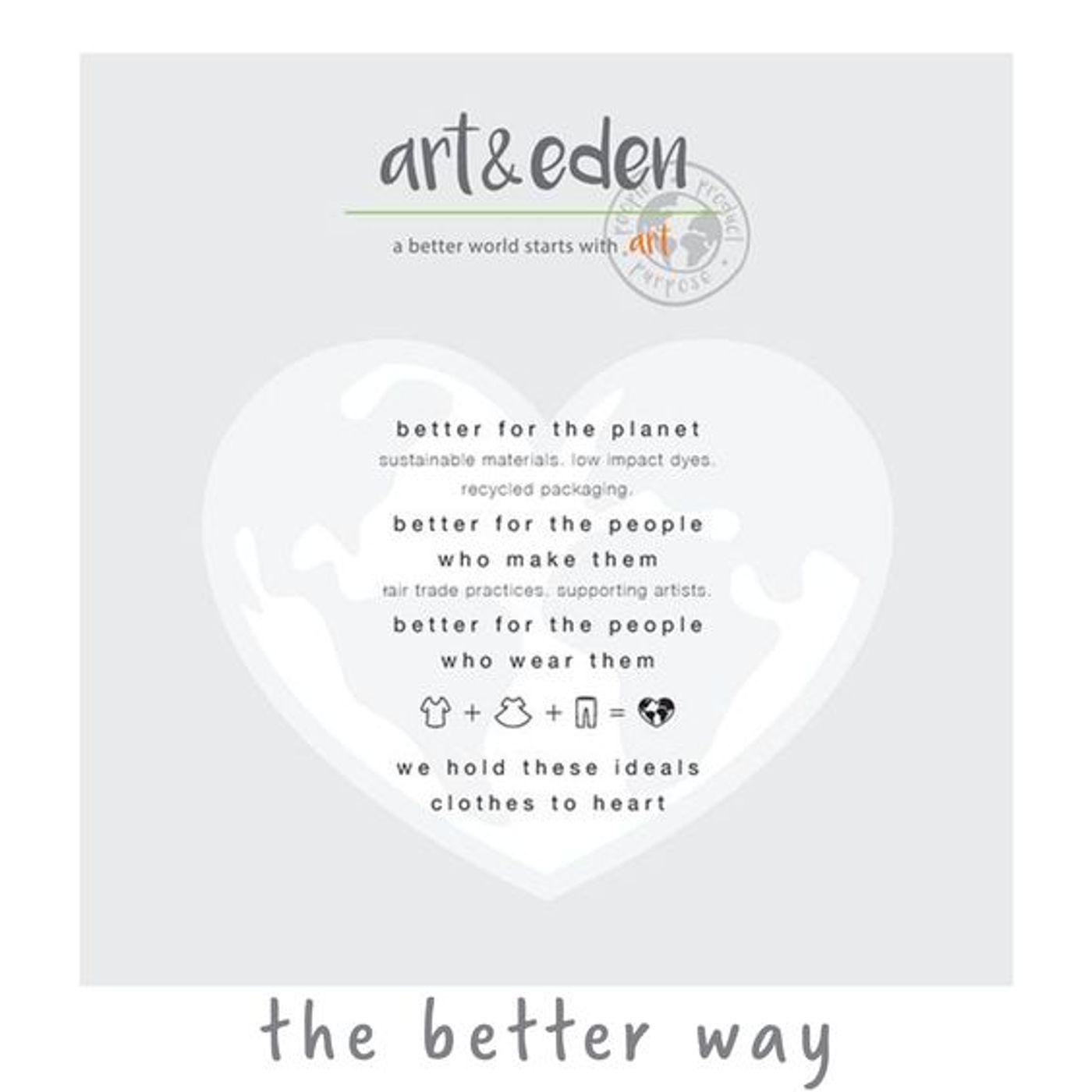 Art + Eden Organic Clothing for Kids