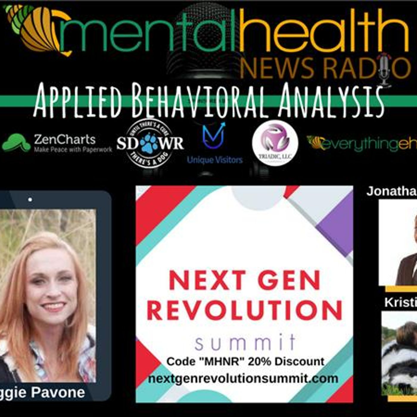 Mental Health News Radio - Maggie Pavone on Applied Behavior Analysis at Next Gen Revolution