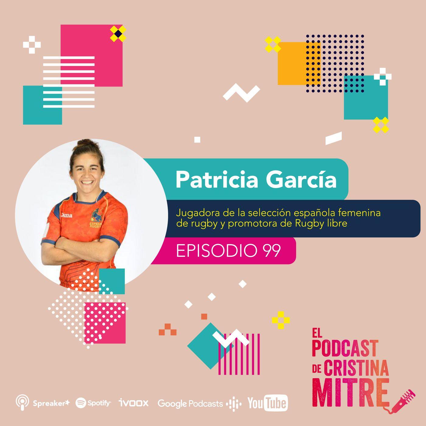 """""""La sociedad es trabajo en equipo, como el rugby"""", Patricia García, jugadora de la selección española femenina de rugby."""