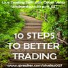 10 Steps To Better Trading
