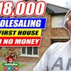 $18,000 Wholesaling Real Estate in Virginia With No Cash or Credit | Using Bandit Signs