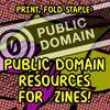 Print Fold Staple - Public Domain Resources For Zines