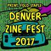 Print Fold Staple - Denver Zine Fest 2017