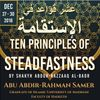 Ten Principles of Steadfastness
