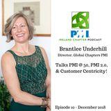 Ireland Chapter PMI Podcast | Episode 10 | Brantlee Underhill - PMI 2.0