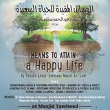 Means to Attain a Happy Life Seminar
