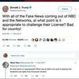 Trump Threatens to Retaliate against reporters who don't show RESPECT