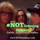 Ep.213 - Garth, That was a Haiku
