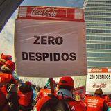 #EspartanosEnLaCafetera Victoria de @cocacolaenlucha tras 5 años de protesta,con @jcaahg. Prensa internacional y videoforum. AYÚDANOS CON RT