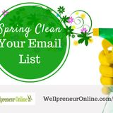 {e63} Spring Clean Your Email List