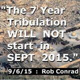 Reasons TRIB will NOT start in SEPT 2015