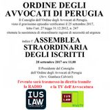 Assemblea Straordinaria COA Perugia