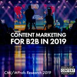Content Marketing - CMI and MarketingProfs B2B Research