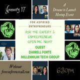 Ask The Entrepreneur - Darrell Forte - Millennium Technology Jan 17 2018