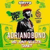 Adriano Bono x #Blazeup live Sierra Park Perugia
