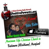 MAXIMUM LIFE'S SUNDAY SERVICE FOR 9-20-2015