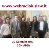 Conferenza Stampa del CDN AIGA - Aula del Consiglio del Comune di Treviso - 20 Gennaio 2017