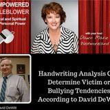 Handwriting Reveals Bullying/Discrimination Tendencies According to David DeWitt